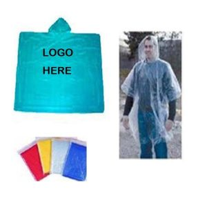 Logo imprint raincoat china