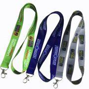 China OEM promotional lanyards