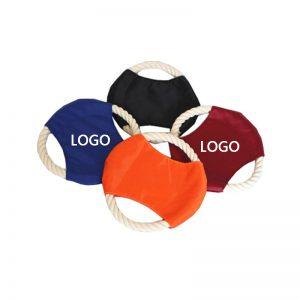 Nylon dog flying disc toys