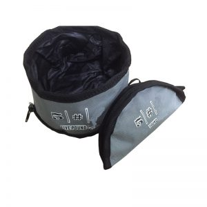 Waterproof nylon pet bowl