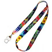 Full color promotional lanyards with opener