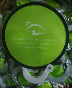 China promotional nylon fans