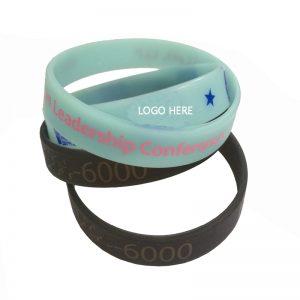 China factory direct custom logo wristbands