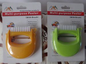 Giftbox package of kitchen promotional item peeler