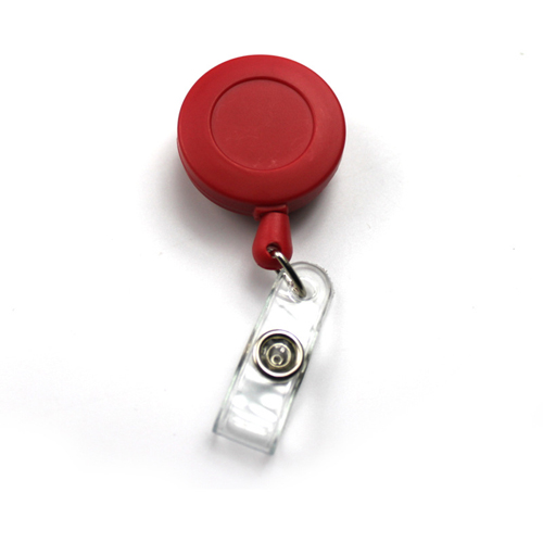 Red Stretch badge buckle