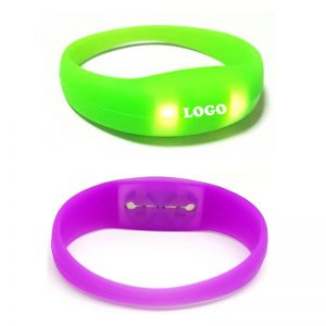 Silicone Light Bracelet as Giveaways