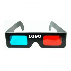 3D promotional glasses with Logo