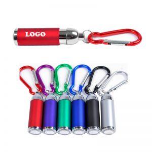 Carabiner LED flashlight with Logo