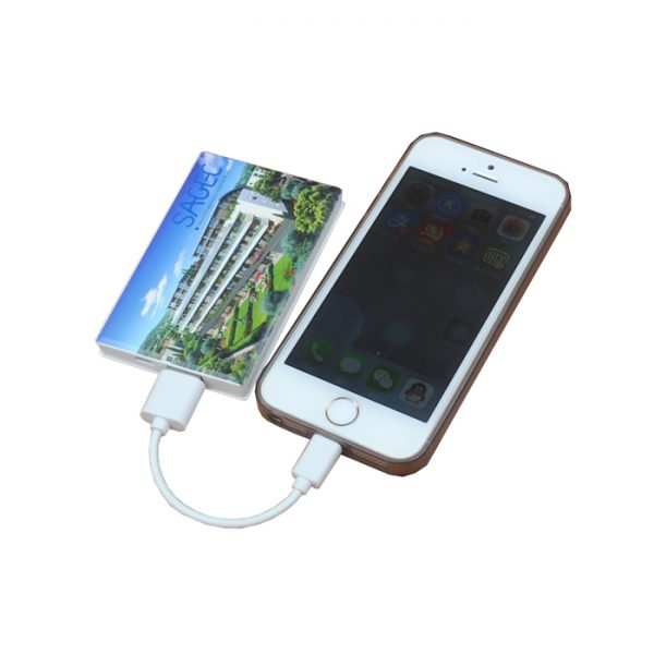4c image Card Phone Charger