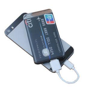 Credit card power bank China