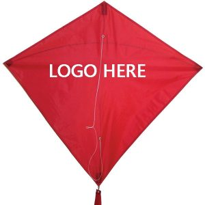 Custom Logo Diamond Nylon Kites