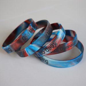 Multi color rubber bands