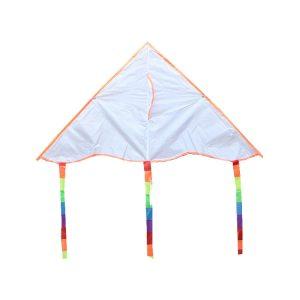 White D.I.Y kites for promotion