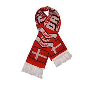 Knitted Soccer Fans Scarves