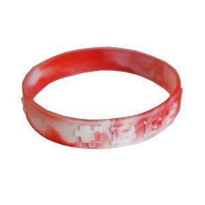 Swirl Silicone wrist bands