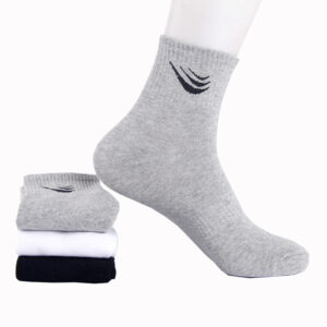 Knitted customized Logo socks