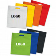 Ad Die Cut Printed Nonwoven Tote Bags China Factory
