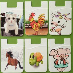 China supply of custom Logo phone wallet
