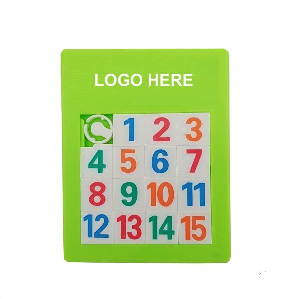 Plastic Slide Number Puzzle